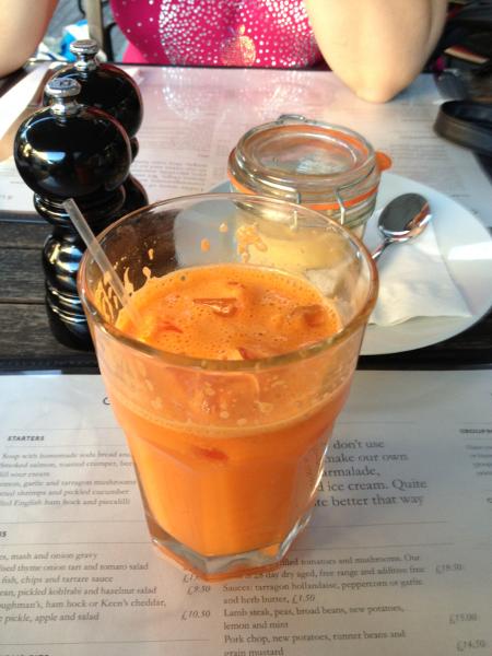 carottes gingembre
